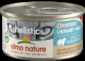 Almo Nature Holistic Urinary Help - консервы для профилактики мочекаменной болезни у кошек с белым мясом (85 г)