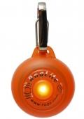 Rogz - Светящаяся подвеска на ошейник, оранжевая