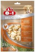 8 in 1 Delights XS - косточки с курицей для мелких собак (21 шт. х 7,5 см)