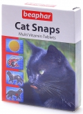 Beaphar - Беафар кормовая добавка Cat Snaps для кошек (75 таб.)