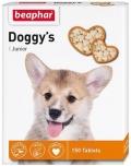 Beaphar Doggy`s Junior - Беафар витаминизированное лакомство для щенков (150 таб.)