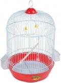 Triol - Клетка для птиц укомплектованная золото (A9001G)