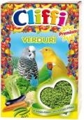 Cliffi Verduri - яичный корм с овощами для всех зерноядных птиц (300 г)