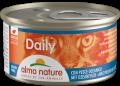 Almo Nature Daily - мусс для кошек с океанической рыбой (85 г)