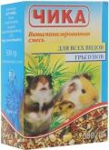 Чика - Витаминизированная зерносмесь для всех видов грызунов (500 г)