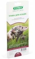 TiTBiT - трава для кошек, овес для проращивания (40 г)