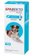 Бравекто капли спот-он от блох и клещей для собак 20 - 40 кг (1000 мг)