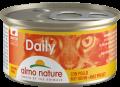 Almo Nature Daily mousse - мусс для кошек с курицей (85 г)