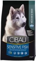 Cibau Sensitive Fish Medium & Maxi - корм для чувствительных собак средних и крупных пород