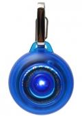 Rogz - Светящаяся подвеска на ошейник, синяя