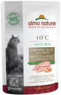 """Almo Nature HFC Natural - паучи для кошек """"Куриное филе с ветчиной"""" (55 г)"""
