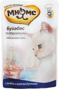 """Мнямс - пауч для кошек """"Буйабес по-Марсельски"""" с рыбой и морепродуктами (85 г)"""