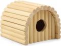 Гамма - Домик полукруглый для грызунов деревянный (13 x 12,5 x 10,5 см)