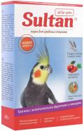"""Sultan - корм для средних попугаев """"Трапеза с овощами и экзотическими фруктами"""" (400 г)"""