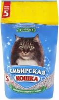 """Сибирская кошка - наполнитель впитывающий """"Эффект"""" (5 л)"""
