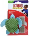 """Kong - игрушка для кошек """"Черепашка"""" с тубом кошачьей мяты"""