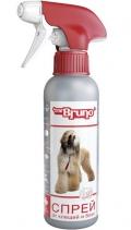 Mr. Bruno - Спрей инсектоакарицидный для собак (200 мл)