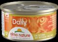 Almo Nature Daily - мусс для кошек с индейкой (85 г)