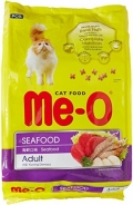 """Me-O Adult Seafood - сухой корм для взрослых кошек """"Морепродукты"""""""