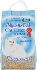 Pussy-Cat - наполнитель впитывающий цеолитовый (4,5 л)