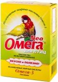 Омега Нео - мультивитаминное лакомство с биотином для птиц (50 г, гранулированный порошок)