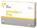 VetExpert UrinoVet Dog - добавка для собак при инфекциях нижних мочевыводящих путей (30 таб.)