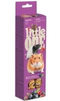 Little One - Палочки для хомяков, крыс, мышей и песчанок с ягодами (2 по 60 г)