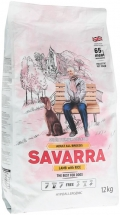 Savarra Adult - сухой корм для собак всех пород с ягненком и рисом