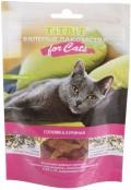 TiTBiT - вяленые лакомства для кошек соломка куриная (50 г)