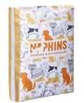 Napkins - впитывающие гелевые пеленки для животных 60 x 40 см (5 шт)