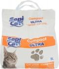 Sepi Cat - наполнитель комкующийся, Ультра (5 л)