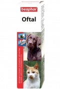 Beaphar Oftal - Средство для чистки глаз и удаления слезных пятен (50 мл)