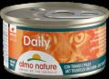 Almo Nature Daily mousse - мусс для кошек с тунцом и курицей (85 г)