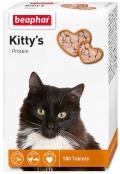 Beaphar - Беафар кормовая добавка Kitty's + Protein с протеином для кошек