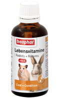 Beaphar Lebensvitamine - Беафар кормовая добавка для грызунов и кроликов (50 мл)