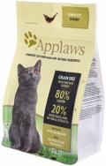 Applaws Senior - сухой беззерновой корм для пожилых кошек с курицей и овощами