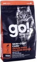 Go! Solutions Skin - сухой беззерновой корм для котят и кошек с лососем