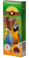 Верные друзья - лакомство для попугаев палочки с кунжутом (150 г)