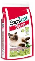 """Sani Cat - наполнитель впитывающий """"30 дней"""", с ароматом Алоэ вера (17 л)"""