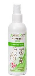 Animal Play - спрей для котят и кошек от клещей (200 мл)