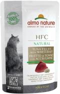 Almo Nature HFC Natural - паучи для кошек с тунцом и мальками (55 г)