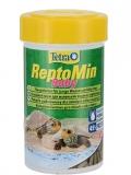 Tetra ReptoMin Baby - корм для молоди водных черепах (100 мл)