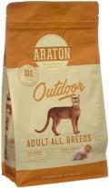 Araton Outdoor - сухой корм для активных кошек с курицей и индейкой