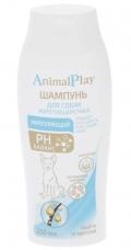 Animal Play - шампунь для собак с короткой шерстью укрепляющий (250 мл)
