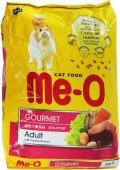 """Me-O Adult Gourmet - сухой корм для взрослых кошек """"Деликатес"""""""