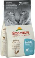 Almo Nature Holistic Urinary Help - сухой корм для кошек профилактика МКБ с курицей