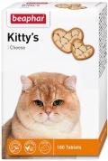 Beaphar - Беафар кормовая добавка Kitty's + Cheese для кошек