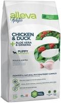 Alleva Holistic Chicken & Duck + Aloe vera & Ginseng Puppy Medium - сухой беззерновой корм для щенков средних пород Курица, Утка, Алое вера и Женьшень