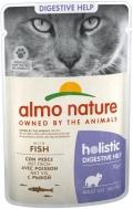 Almo Nature Holistic Digestive Help - паучи для кошек с чувствительным пищеварением с рыбой (70 г)
