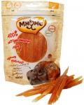 Мнямс - лакомство для собак куриная соломка с омега-3, омега-6 (100 г)